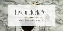 Dzisiaj mam dla Was garść ciekawych artykułów blogowych z polskiej blogosfery, czyli następny wpis z serii Five o'clock #4 . Zaparzcie sobie herbatkę, usiądźcie wygodnie. Zapras...