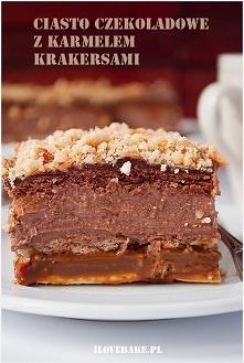 Ciasto czekoladowe z karmel...