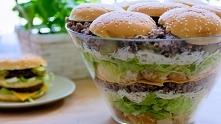 Big Mac - Rewelacyjna sałatka hamburgerowa, którą nie raz zaskoczysz swoich g...