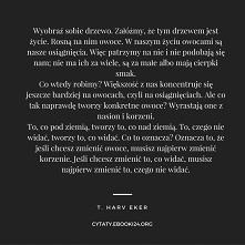 T. Harv Eker cytat o zmianach