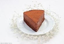 Czekoladowe ciasto z musem ...