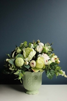 bukiet kwiatów sztucznych z...