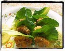 Szaszłyki z kiełbasianych klopsów z cykorią - Sausage Balls Skewers Recipe - ...