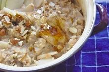 Cynamonowa ryżanka z gruszk...