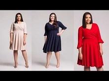 Moda plus size - inspiracje...