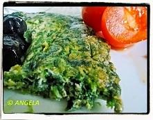 Frittata (omlet) z pokrzywą -Frittata (Omelette) with common nettle - Frittat...