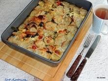 Ziemniaki zapiekane ze szpinakiem