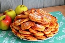 Puszyste racuchy z jabłkami Dla całej rodziny!