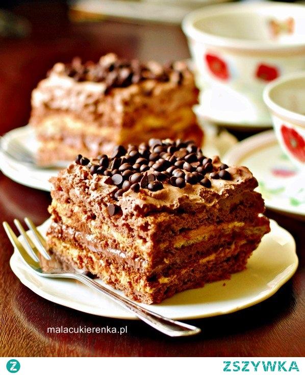 """Ciasto czekoladowa """"krówka"""""""