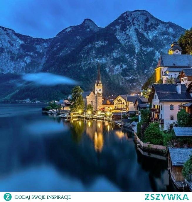 Beautiful Town Hallstatt In Austria