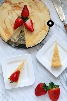 Sernik waniliowy - bez glutenu | Moja Delicja // Gluten free baked vanilla ch...
