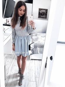 Piękna sukienka z długim rękawem z kolekcji Illuminate <3
