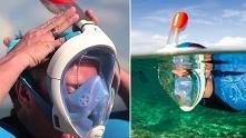 maska do nurkowania na wakacje
