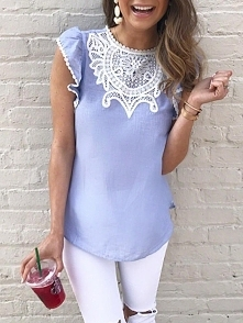Crochet Lace Splicing Flutt...