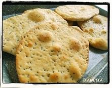 Chlebki naan z nasionami z ...