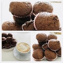czekoladowe muffinki ❤️❤️❤️ łatwe w przygotowaniu i mega pyszne