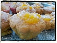 Mini babeczki z lemon curd ...