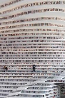 Z jednej strony taka biblioteka to marzenie, a z drugiej koszmar... jak tu na...