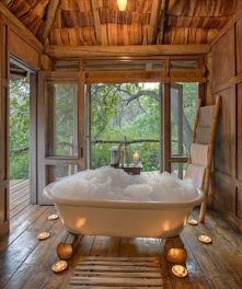 Tree House Hotel:  AndBeyond Lake Manyara Tree Lodge Lake Manyara, Tanzania