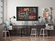 Sztuka wyrazu - nowoczesny obraz na płótnie