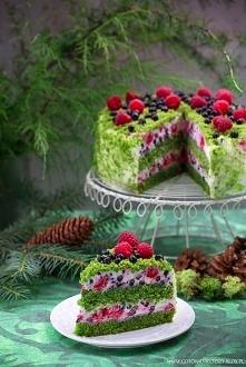 Składniki na tortownicę o średnicy 24 cm  Ciasto:  * 450 g mrożonego, rozdrob...