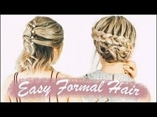 Easy Short Hairstyles For Prom (Weddings, Formals!) - KayleyMelissa