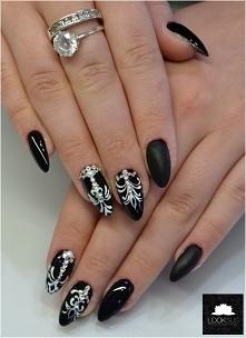 black & white & dia...