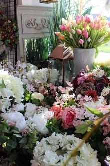sklep z dekoracjami ze sztucznych kwiatów - tendom