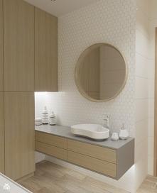 Pomysł na delikatną łazienk...