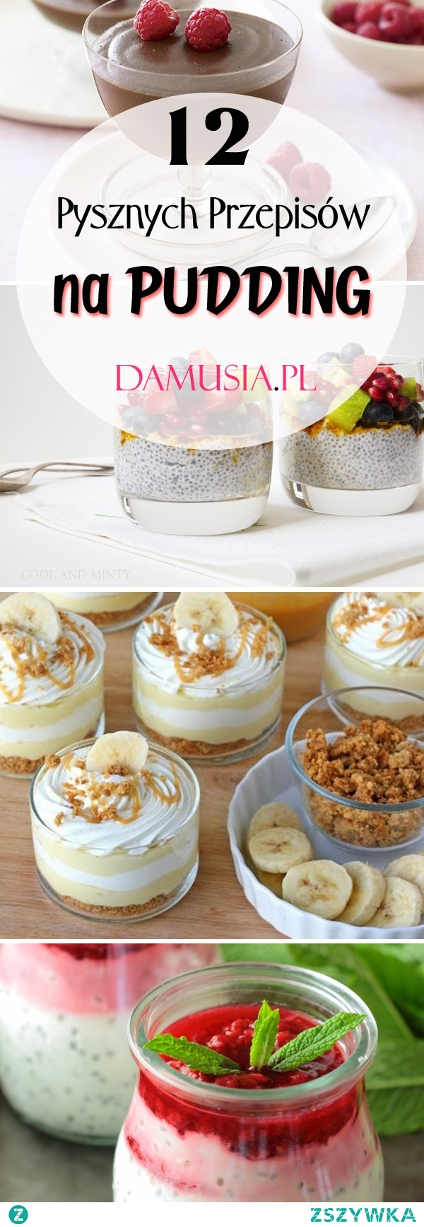 12 Pysznych Przepisów na Pudding