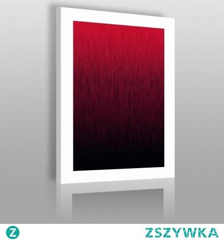 Piękno czerwieni - nowoczesny obraz na płótnie