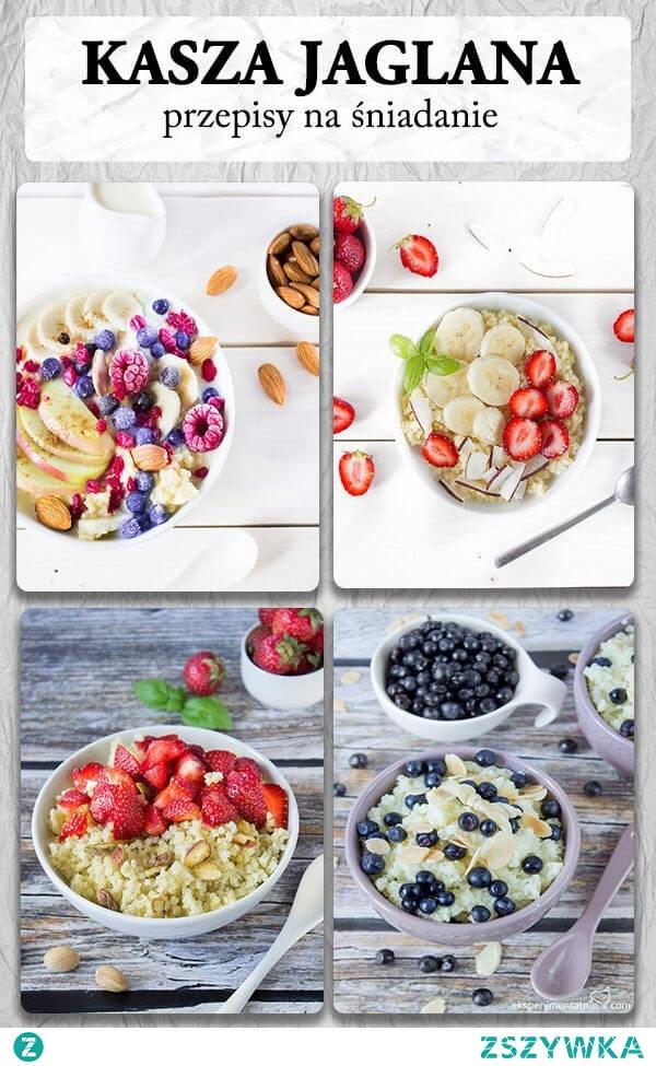 kasza jaglana przepisy na śniadanie - jaglanka