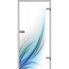 Nowoczesne drzwi szklane, trwałe i solidne