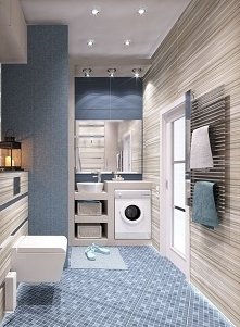 #blue #bathroom
