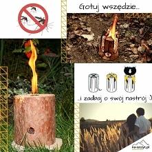 Gotuj wszędzie i zadbaj o swój nastrój! Ogrodowa świeca antykomarowa oraz szwedzki ogień wykonany z suchego drewna sosnowego. Nie czekaj i sprawdź już teraz!