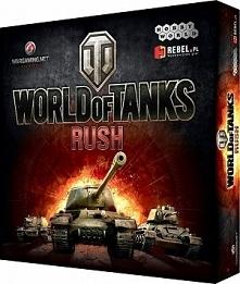 Word of Tanks Rush to planszowa wersja popularne gry komputerowej. Sprawdź ją koniecznie, rozwijaj armię i bierz udział w bitwach na stole!