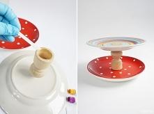 Patera z talerzy DIY