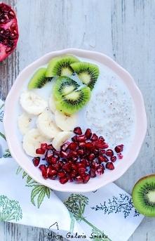 gryczane z owocami