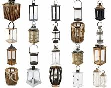lampiony i latarenki na taras / do salonu od tenDOM