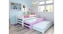3-osobowe łóżko dla dzieci! Pomysł na przestrzenne  zagospodarowanie pokoju, ...