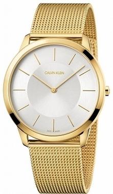 Calvin Klein K3M2T526 klasyczny zegarek męski w kolorze złotym. Wykonany w całości z antyalergicznej stali szlachetnej, mocowany na wygodnej siatkowej bransolecie. Aby przenieść...