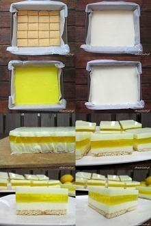 Ciasto cytrynowe bez piecze...