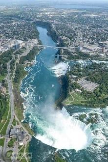 Niagara z lotu ptaka