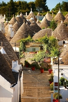 Alberobello, Puglia, Włochy