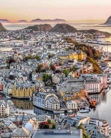 Alesund, Norwegia