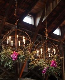 piękne lampy z wykorzystani...