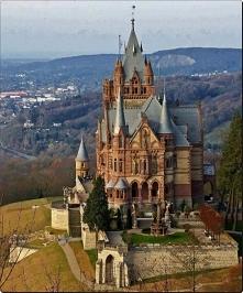Zamek Schloss Drachenburg, Niemcy