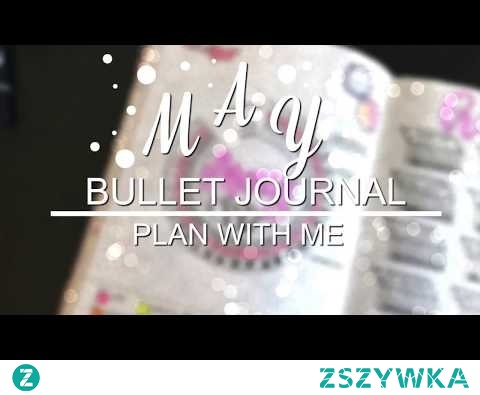 PLAN WITH ME   May 2018   Bullet Journal