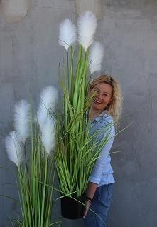 sztuczne trawy z naszej pracowni florystycznej - tenDOM