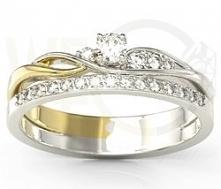 Pierścionek z diamentami - ...